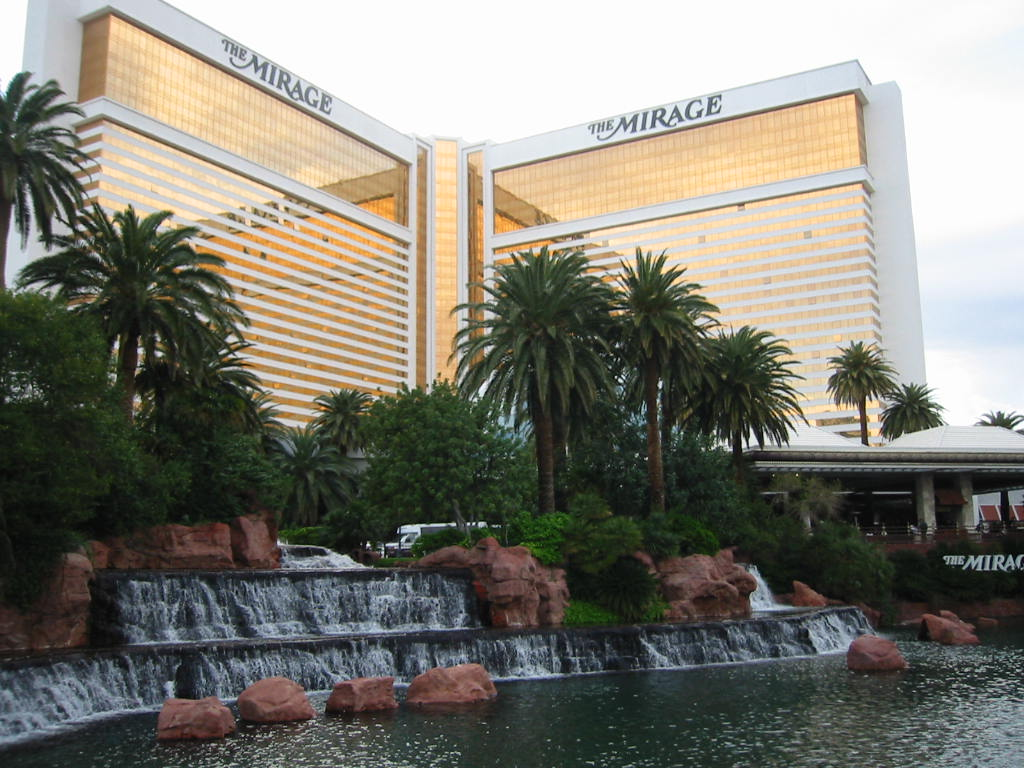 the mirage hotel and casino When you're ready to brave the crowds, you'll find the mirage hotel and casino  sandwiched between treasure island and the forum shops at caesars palace.